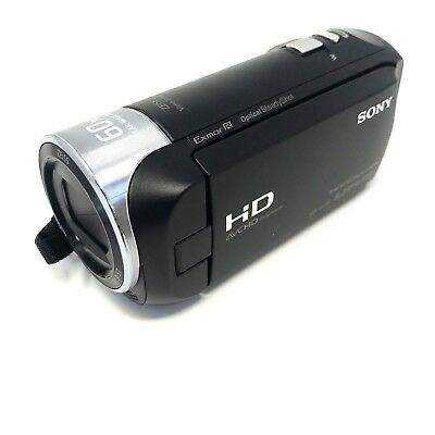 Sony Handycam Black Camcorder HDR-CX405 Full HD 60x Zoom 9.2MP MP4 Tested
