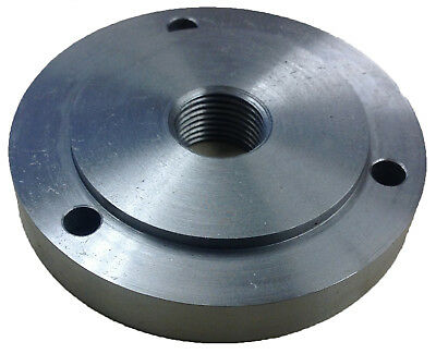 "4"" 1""-8 Backplate For 3 Jaw Chucks (3900-3210)"