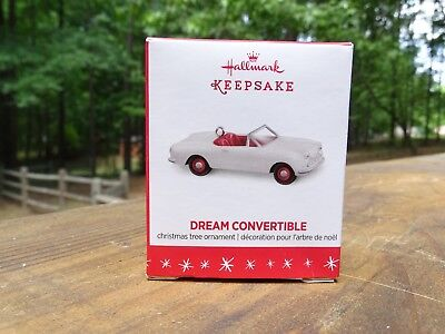 Rare 2016 New Hallmark Dream Convertible Miniature Christmas Ornament Don Palmer