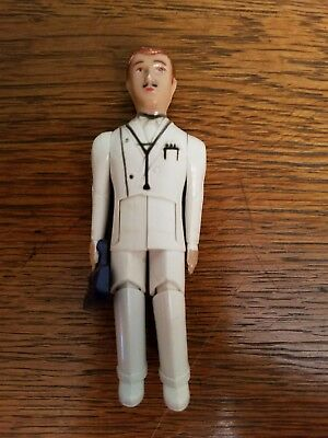 Vintage Renwal Doll Dollhouse  Doctor With His Medical Bag *rare* Htf