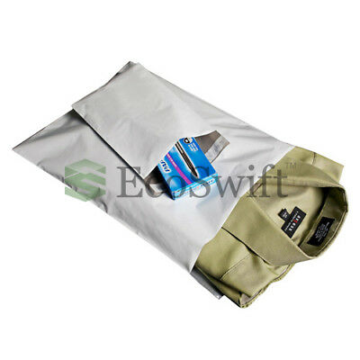 25 12x12 Square White Poly Mailers Shipping Envelopes Self Sealing Bags 1.7 MIL