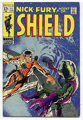 JERRY WEIST ESTATE: NICK FURY, AGENT OF S.H.I.E.L.D. #11 (Marvel 1969) FN+