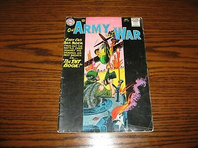 DC - OUR ARMY AT WAR SGT ROCK #134 - The TNT Book!! Glossy VG/VG+ 1963