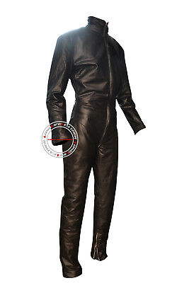 Unisex Custom Size Color Tailor Made Leather Catsuit V-Style Brand New #2918