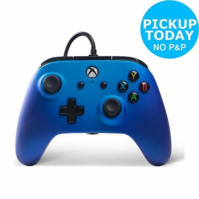 PowerA Enhanced Wired Controller for Xbox One - Sapphire Fade.