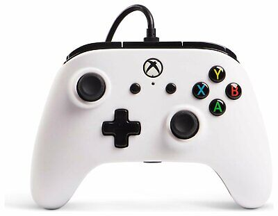 PowerA Enhanced Wired Controller for Microsoft Xbox One - White
