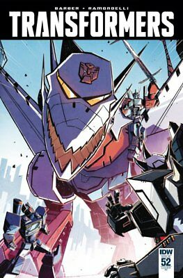 TRANSFORMERS #52, TRAMONTANO 1:10 VARIANT, New, First print, IDW (2016)