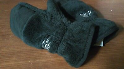 The North Face  Kid Girl Boy Gloves Winter Warm Stretchy Knitted Mittens Sp 7/8