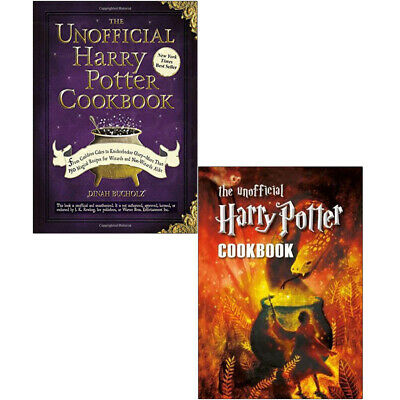 Children's Cookery Collection 2 Books Set Unofficial Harry Potter Cookbook New