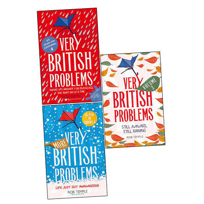 Rob Temple Collection 3 Books Set More Very British Problems Volume III NEW