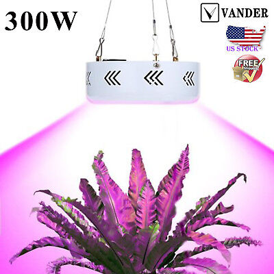 300W LED Pflanzen Lampe Full Spectrum Pflanze Grow Light UV Wachsen Licht