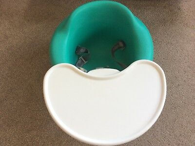 Bumbo Baby Seat with Restraint Belt & Removable Play Tray