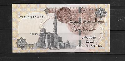 Egypt Egyptian 2016 Pound Au Mint Crisp Banknote Paper Money Currency Bill Note