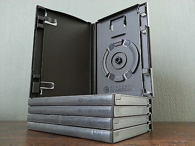 Nintendo GameCube Empty Replacement Game Cube Case Box with Memory Card Holder