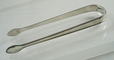 Georgian Silver Sugar Tongs Nips By Peter & William Bateman.