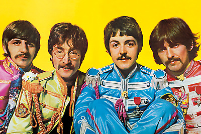 The Beatles Lonely Hearts Club Maxi Poster