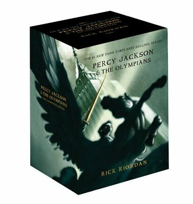 Percy Jackson and the Olympians Collection Rick Riordan 5 Books Series Box Set