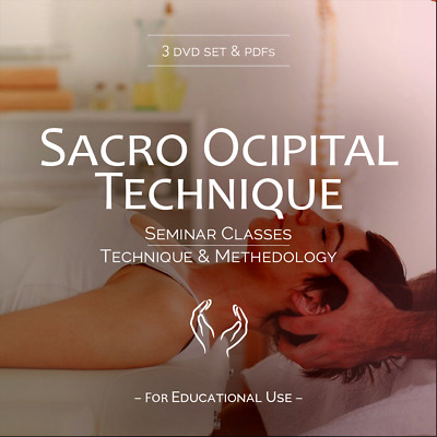 Craniosacral Adjusting - Sacro Occipital Technic SOT - 3 DVD Training Set