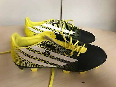 adidas CrazyQuick Malice FG Pro Rugby Boots  UK 9.5 Yellow  rrp £140