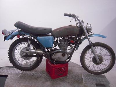 1972 BSA B25T Starfire Unregistered US Import Barn Find Classic Restoration Proj