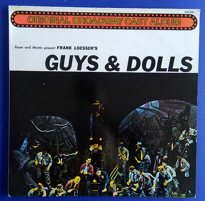 Frank Loesser's Guys & Dolls A Musical Fable of Broadway, LP UK