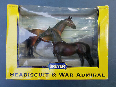 2003 Breyer Horse Set Seabiscuit & War Admiral Nrfb