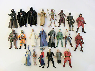Star Wars  Actionfiguren Sammlung Lot Hasbro 3.75 Trilogy Saga Vintage Collecti