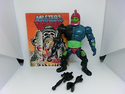 Masters Of The Universe Trap Jaw Action Figur Mexico Vintage He Man Motu Comic