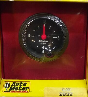2 Inch Electrical Clock Gauge Kit Autogage by AutoMeter 2632