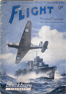 FLIGHT and the AIRCRAFT ENGINEER magazine Feb13th 1941 lovely pictures & adverts