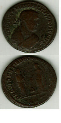 Diocletian Follis Struck After Abdication Antioch Syria