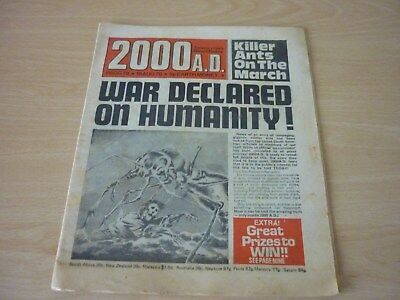 2000AD - PROG 78 - 19th AUGUST 1978 - BANNED ISSUE - HOUSE CLEARANCE