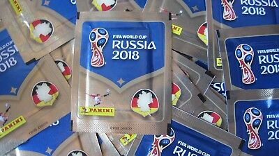 panini FIFA World Cup RUSSIA 2018 , WM 2018 , 50 Tüten mit je 5 Stickern