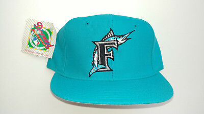 hot sale online 6f313 7983c Florida Marlins New Era 59Fifty Authentic Hat Size 7 Miami Vintage Fitted  Cap