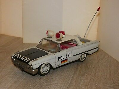altes Blechauto Polizei Made in Japan