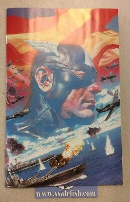 Captain America #1 2018 Alex Ross 1:100 Virgin Variant Marvel Comics