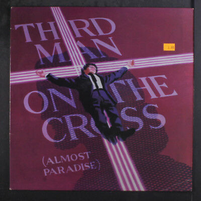 JOSEPH MARCOGUISEPPE: Third Man On The Cross (almost Paradise) 45 (AOR Synthpop