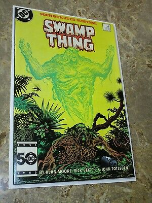 SAGA OF THE SWAMP THING #37 1st JOHN CONSTANTINE APPEARANCE $.99 Auction