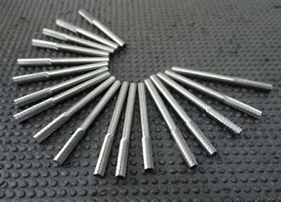 """New!! Lot Of 18 Solid Carbide Burrs 1/8"""""""