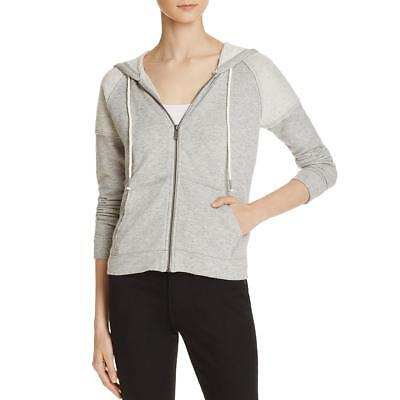 Splendid Womens Gray Fitness Yoga Running Hoodie Jacket S BHFO 1076