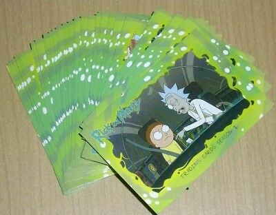 Cryptozoic Rick and Morty COMPLETE Base Set Season 1 - 45 cards