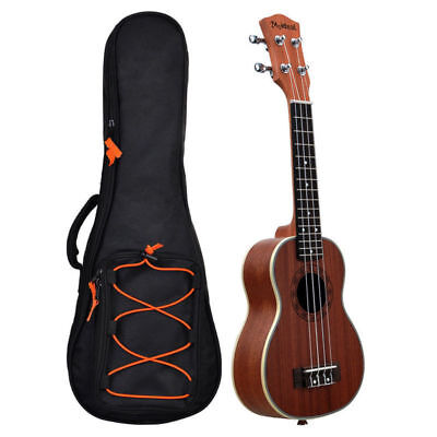 "21~30"" Ukulele Guitar Bag Double Strap Soft Case Padded Gig Bag Fashion Design"