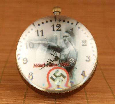 Collectible Copper good Used Mechanical armstrong's patent Pocket Watch Clock