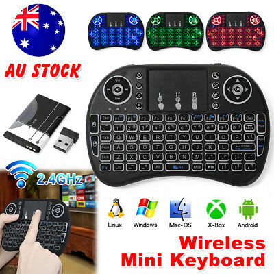 Mini Wireless Keyboard i8 2.4GHz with Touchpad for Smart TV Android Box SNU
