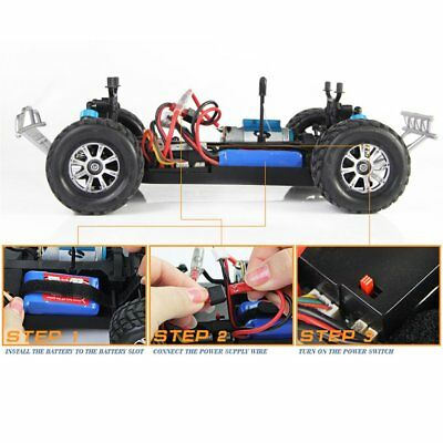 WLtoys A979-B 2.4GHz 1/18 Scale 4WD RC Car 70KM/h Electric RTR Off-road Truck