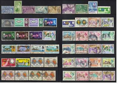 (535) Bermuda 1953-1970 Used Collection Cat £37