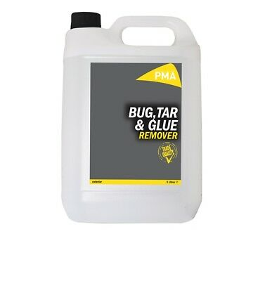 PMA TAR5 Car Cleaning Detailing 5 Litre Bug & Tar Remover