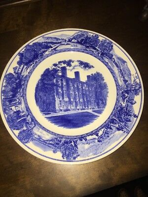 Wedgwood Middlebury Vermont Vt College PAINTER HALL  Plate