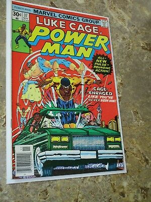 Luke Cage Power Man #37 Early Bronze Age Marvel Appearance $.99 Auction