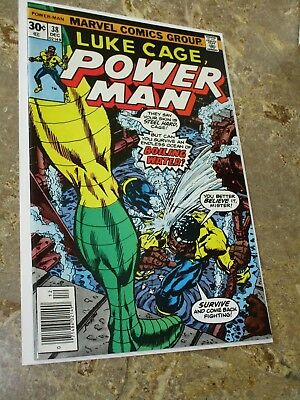 Luke Cage Power Man #38 Early Bronze Age Marvel Appearance $.99 Auction